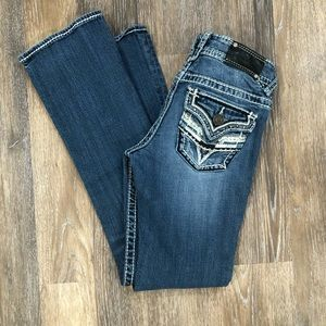 Vigoss Jeans The New York Slim Boot Embellished